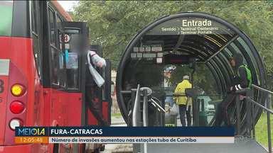 Aumenta número de invasões a estações tubo - O prejuízo é de mais de R$ 6 milhões por ano.