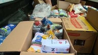 Natal do Bem: alimentos já estão sendo entregues a entidades - As mensagens e os alimentos continuam chegando.