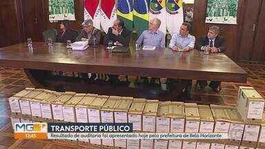 Resultado da auditoria do transporte público de Belo Horizonte é apresentado nesta sexta - Prefeito de BH, Alexandre Kalil (PHS), disse que não vai permitir que o valor das passagens suba.