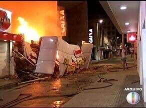 Superaquecimento de aparelhos é uma das principais causas de incêndios em imóveis - Confira os destaques do G1 desta sexta-feira (21).