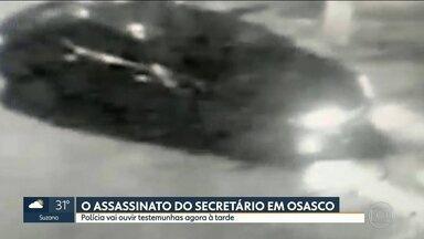Polícia vai ouvir testemunhas, agora a tarde, sobre o assassinato do secretário de Osasco - Câmeras de segurança flagraram a perseguição ao carro de Osvaldo Verginio da Silva.