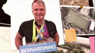 INVASÃO GLOBO ESPORTE: BERNARDINHO - Técnico campeão olímpico invade quadra de vôlei em São Paulo para matar saudades de dar broncas