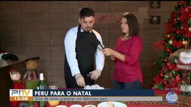 Aprenda a fazer um delicioso peru para ceia de Natal - Aprenda a fazer um delicioso peru para ceia de Natal