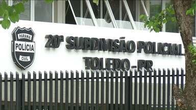 Polícia prende suspeito de agredir uma criança de 5 anos - O suspeito de 31 anos foi preso em flagrante, em Toledo.
