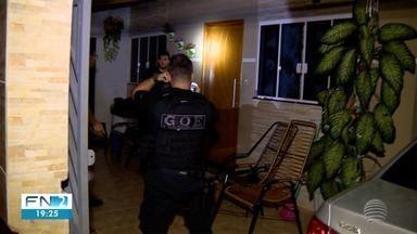 Operação policial prende 11 pessoas no Oeste Paulista - Presos são suspeitos de envolvimento com tráfico de drogas.