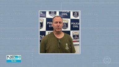 Professor americano é preso por estupro de menina de 11 anos no Recife - Paul Perron, segundo a polícia, admitiu ter feito sexo com a menor