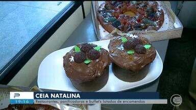 Empresas recebem encomendas de ceias de Natal em Teresina - Empresas recebem encomendas de ceias de Natal em Teresina