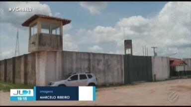 Em Redenção, detento é alvo de tentativa de assassinato dentro de presídio - O preso é acusado de fazer parte de bando especializado em roubo a bancos.