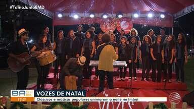 Projeto Vozes de Natal, da TV Bahia, promove apresentação de coral no Imbuí - undefined