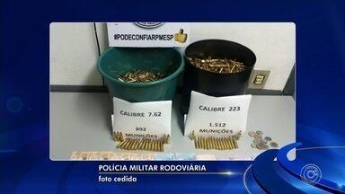 Mulher é apreendida com quase 2.500 munições na Castello Branco - undefined