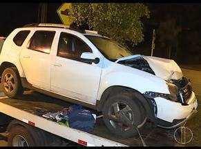 Homem é preso com mais de 300 quilos de maconha na BR-356 - Ele tentou fugir e se envolveu em um acidente.
