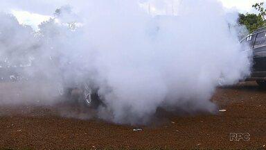 Contrabandistas usam nova estratégia de transporte - Fumaça é usada pra despistar a polícia.