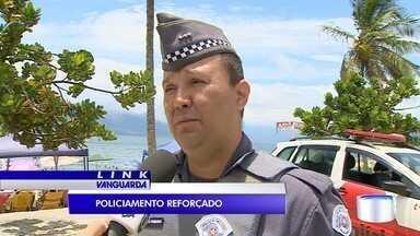 PM reforça segurança nas cidades do litoral norte de SP - Objetivo é garantir segurança dos turistas.