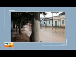 Temporal causa transtornos em Freio Inocêncio - Chuva intensa na madrugada provocou alagamento de casas e ruas.