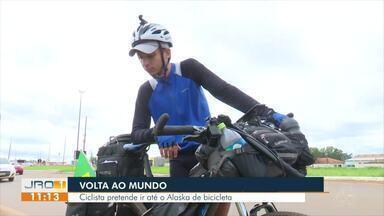 Volta ao Mundo: Ciclista pretende ir até ao Alaska de bicicleta - Volta ao Mundo: Ciclista pretende ir até ao Alaska de bicicleta