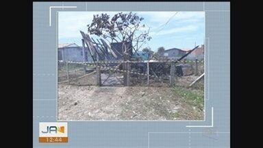 Idoso resgatado de incêndio em casa morre no hospital em Araranguá - Idoso resgatado de incêndio em casa morre no hospital em Araranguá