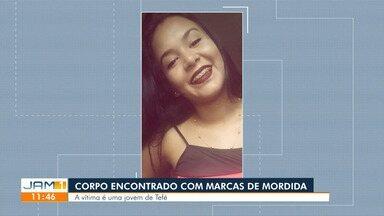 Corpo de jovem de 19 anos é encontrada com marcas de mordida, em Tefé - Vítima foi encontrada por familiares na manhã desta terça-feira (25).
