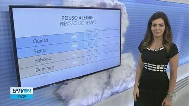 Confira a previsão do tempo para esta quinta-feira (27) no Sul de Minas - Confira a previsão do tempo para esta quinta-feira (27) no Sul de Minas
