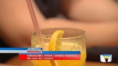 Câmara aprova lei que proíbe canudos nos comércios em São José - A lei ainda precisa ser sancionada pelo prefeito Felicio Ramuth.