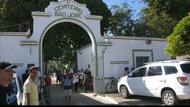 JPB2JP: Jovem que confessou asfixiar a namorada vai ficar detido no Presídio do Roger - Corpo da vítima foi enterrado hoje à tarde em João Pessoa.