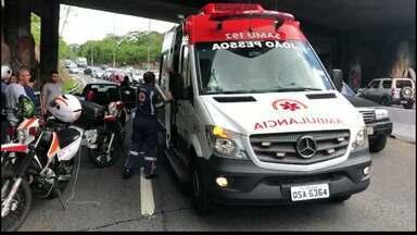 JPB2JP: Motociclista bate num poste e morre em João Pessoa - Chegou a ser levado para o hospital.