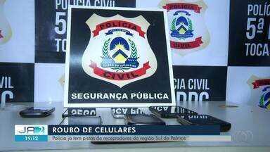 Polícia Civil investiga quem compra os celulares roubados em Palmas - Polícia Civil investiga quem compra os celulares roubados em Palmas