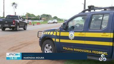 Acidentes em rodovias reduzem quase 50% no natal - Segundo a PRF, as infrações de trânsito aumentaram.