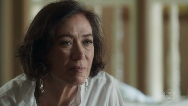 Valentina revela a Sampaio que viu Judith - Empresária se irrita com Ypiranga e Scarlet. Sampaio promete terminar o serviço encomendado pela patroa