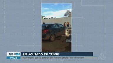 Taxista leva tiro ao tentar impedir agressão de cabo da PM a uma mulher - Crime aconteceu na tarde de terça-feira, feriado de Natal, em Santana. Militar foi preso nesta quarta-feira.