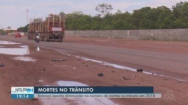 Balanço aponta diminuição no número de mortes no trânsito em 2018 - Dados são do Observatório de Trânsito do Amapá.