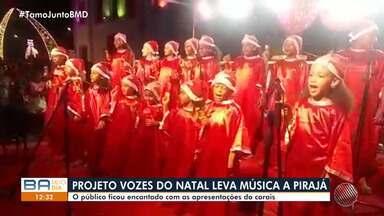 Projeto Vozes de Natal, da TV Bahia, promove apresentações de corais em Pirajá - undefined