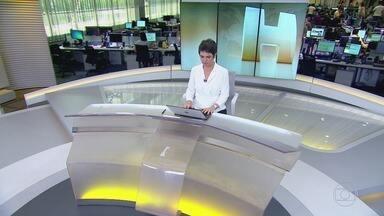 Jornal Hoje - Edição de terça-feira, 01/01/2019 - Os destaques do dia no Brasil e no mundo, com apresentação de Sandra Annenberg e Dony De Nuccio