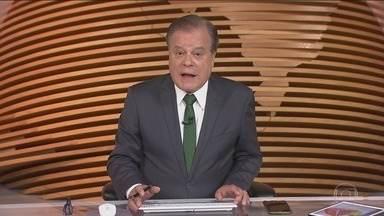 Bom dia Brasil - Íntegra 02/01/2019 - O telejornal, com apresentação de Chico Pinheiro e Ana Paula Araújo, exibe as primeiras notícias do dia no Brasil e no mundo e repercute os fatos mais relevantes.