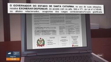 Governador Carlos Moisés (PSL) quer extinguir 922 cargos comissionados - Governador Carlos Moisés (PSL) quer extinguir 922 cargos comissionados