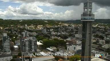 Previsão de chuva volumosa em Pato Branco, Francisco Beltrão e Foz do Iguaçu - Veja como ficam as temperaturas