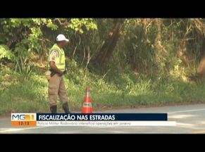 Polícia faz balanço da operação de Ano Novo nas estradas que cortam o Leste de MG - Movimento da volta para casa foi intenso no Vale do Aço.