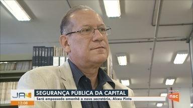 Novo secretário de Segurança Pública de Florianópolis será empossado nesta sexta-feira (4) - Novo secretário de Segurança Pública de Florianópolis será empossado nesta sexta-feira (4)
