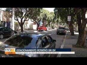 Prefeitura mantém tempo de duração no estacionamento rotativo de Valadares - Administração chegou a anunciar aumento do tempo.