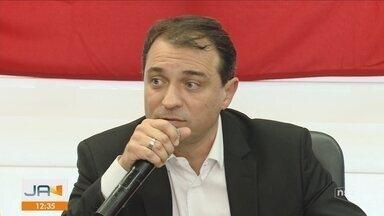 Carlos Moisés (PSL) faz anúncios sobre medidas para o governo - Carlos Moisés (PSL) faz anúncios sobre medidas para o governo