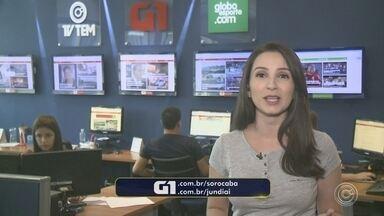 Mayara Corrêa traz os destaques do G1 desta quinta-feira - Confira os destaques do G1 desta quinta-feira (3) com a repórter Mayara Corrêa.