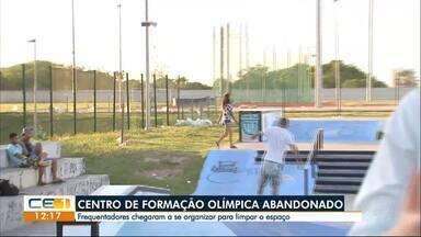 Centro de Formação Olímpica abandonado - Confira outras notícias no g1.globo/ce