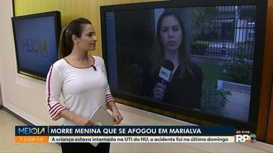 Morre menina que se afogou em Marialva - O acidente aconteceu no último domingo