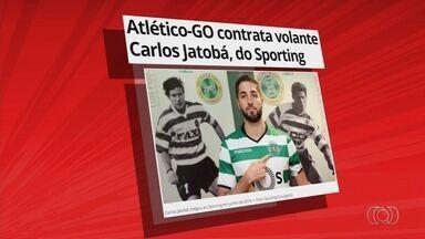 Atlético-GO contrata volante Carlos Jatobá, do Sporting - Meia defensivo de 23 anos fecha por empréstimo com o Dragão