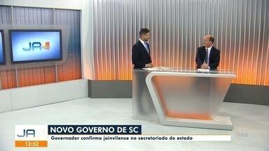 Jefferson Saavedra: governador confirma joinvilense no secretariado - Jefferson Saavedra: governador confirma joinvilense no secretariado