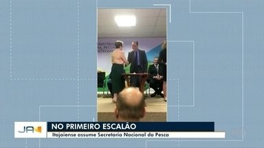 Itajaiense assume Secretaria Nacional da Pesca - Itajaiense assume Secretaria Nacional da Pesca