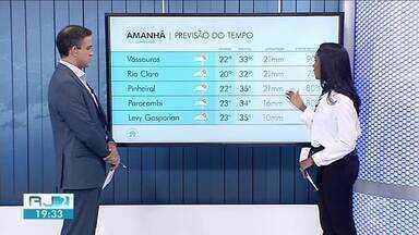Primeira sexta-feira do ano será de tempo instável no Sul do Rio - Clima continua abafado e chance de chuva aumenta durante a tarde.