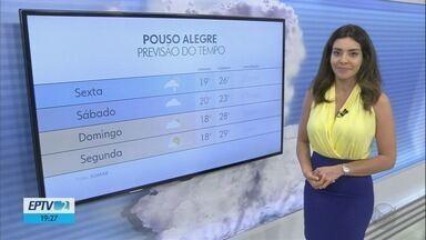 Confira a previsão do tempo para esta sexta-feira (4) no Sul de Minas - Confira a previsão do tempo para esta sexta-feira (4) no Sul de Minas