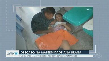 Mulher dá à luz no chão de maternidade e família relata negligência médica - Caso ocorreu em uma maternidade na Zona Leste de Manaus. Bebê nasceu no chão do corredor da unidade.