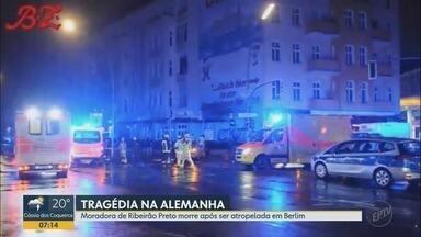 Moradora de Ribeirão Preto morre após ser atropelada na calçada em Berlim - Maria Júlia Gabriel, de 29 anos, nasceu em Campinas (SP), mas cresceu em Guaxupé (MG).