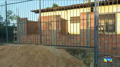 Após reportagem, prefeitura deicide reformar posto de Saúde no Maranhão - Posto de Saúde Cohab 1, situado em Santa Inês, está passando por obras de recuperação em suas instalações.